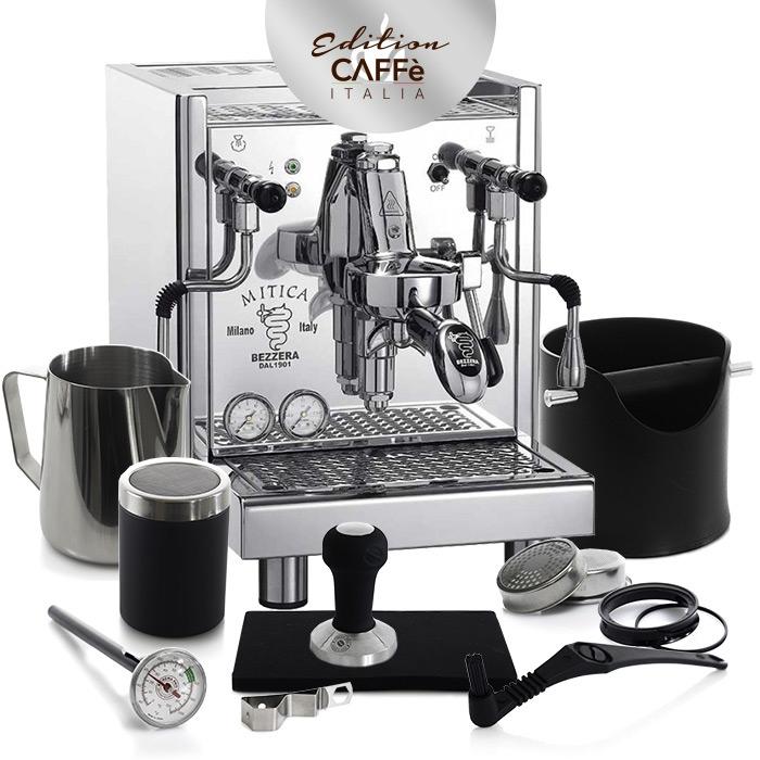BEZZERA MITICA S MN & CAFFE ITALIA KIT EDITION 2