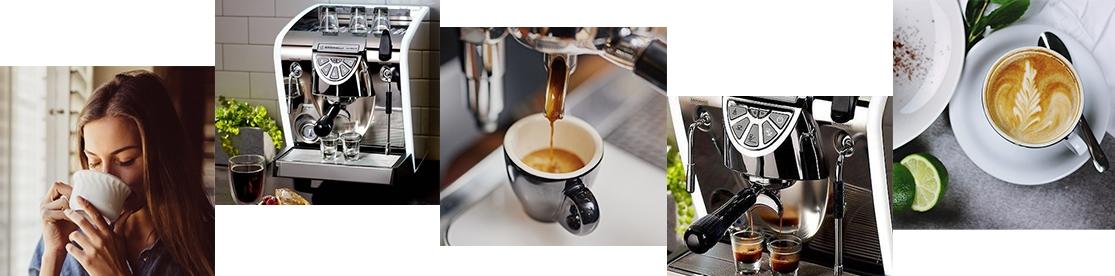 Nuova Simonelli Musica italienische Kaffeemaschine