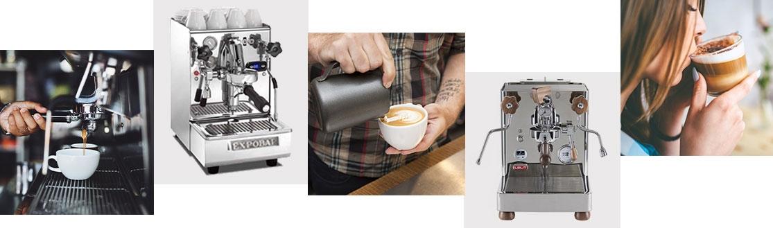 Prosumer-Espressomaschine